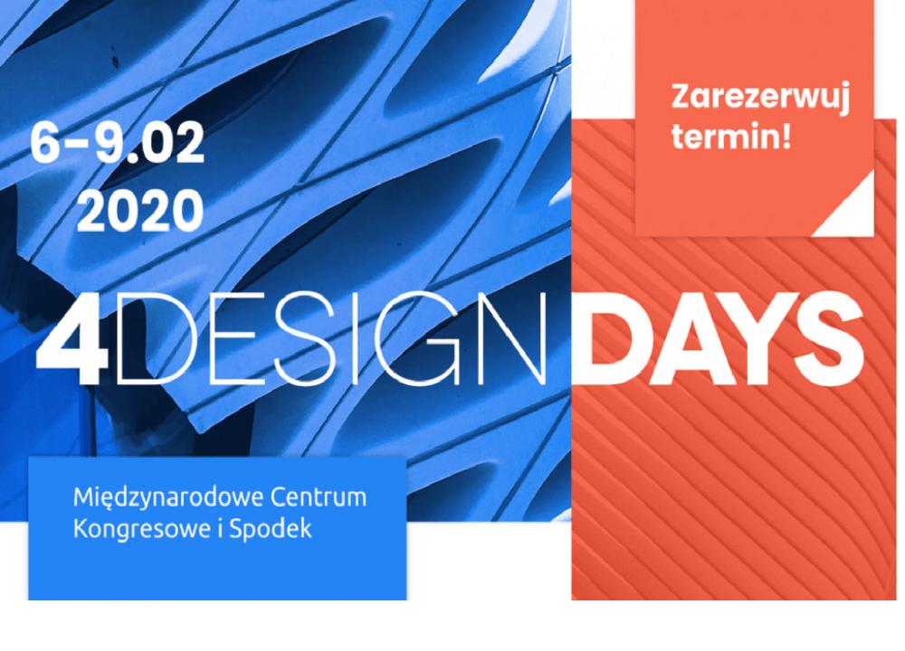 Spotkaj się z nami na 4 Design Days
